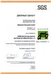NDMA Zertifikat